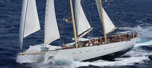 Luxus segelyachten  Luxus unter weissen Segeln, Segelreisen, Luxus Segelreisen ...